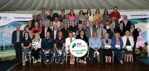 Over £175k presented by SSE Airtricity to community groups close to Slieve Kirk Wind Park